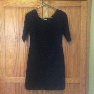 Super hot fitted Dress Barn black mini